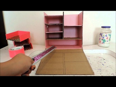 DIY BOX #16: MINI TOCADOR EN ROSA Y LEOPARDO