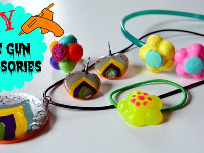 DIY crafts: Glue gun Ornaments & Accessories