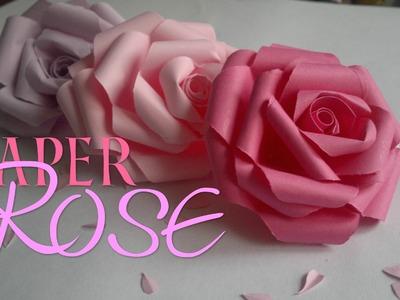DIY Paper Rose | Enn La Rush