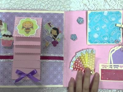 Lam Scrapbook cho baby