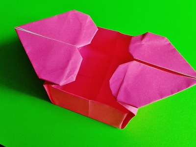 Paper Heart Box Origami