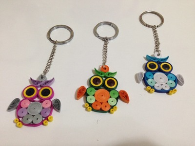 Paper Quilling - Quilling Owl Tutorial