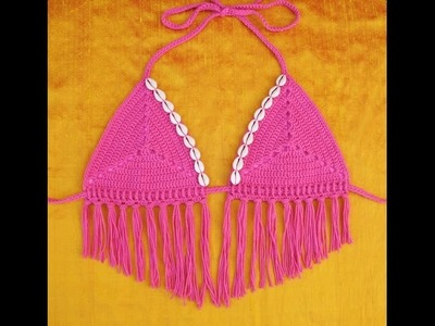 Free Crochet Pattern Bikini Top