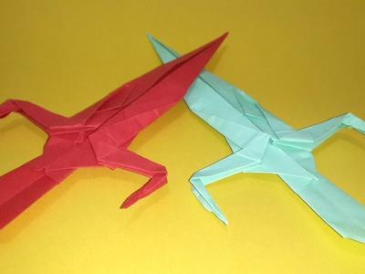 Origami Ninja Sword - paper ninja sword