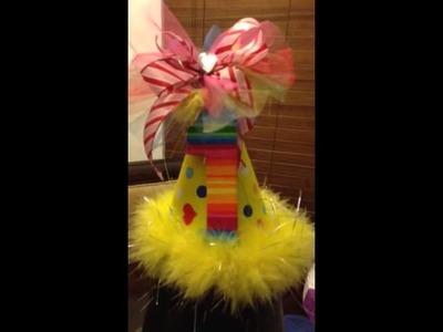 DIY Candyland TuTu Skirt