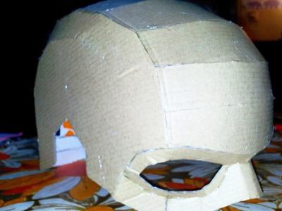 DIY Captain America Helmet (Captain Morocco) - Part1