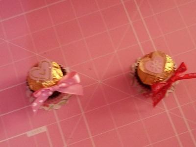 DIY (SAN VALENTIN)  Detalle + Chocolate. Facil & Orginal