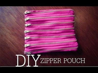 DIY.ZIPPER POUCH.BOLSA DE CIERRES