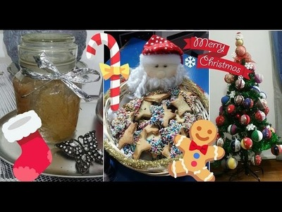 ❄DIY CHRISTMAS❄ Palline decorate,biscotti & jaraCandle!