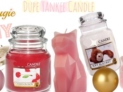 ✮DIY ✮ DUPE  Yankee Candle ✮ Bougie | DIY Candles | Caly Beauty