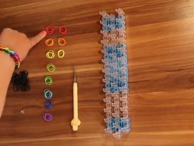 Rainbow Loom - Rotini Armband