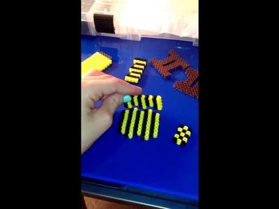3D Perler Bead bed!