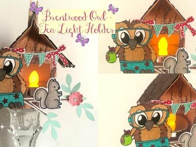Brentwood Owl Tea Light Holder