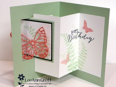 Butterfly Pop-Out Window Fun Fold card