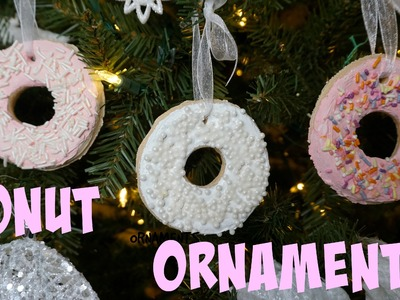 Easy DONUT Ornaments | Vlogmas 3