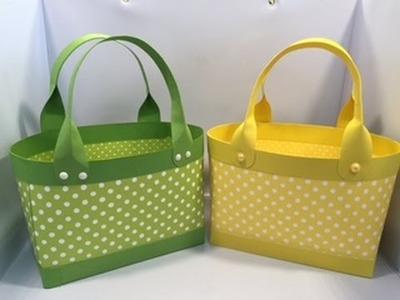 Handbag Gift Basket Tutorial