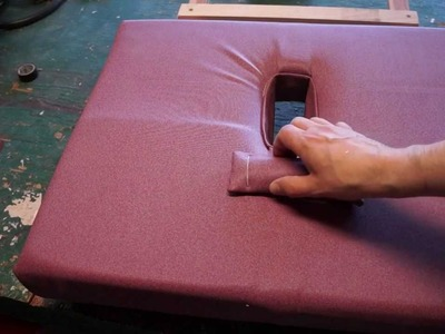 How To Make a Portable, Stowable, Massage Table