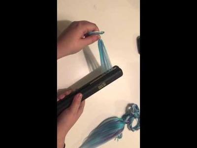 How to Make a Yarn Fox Tail