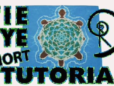 How to Tie Dye a Turtle [Short Tutorial +Variations]