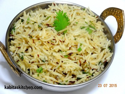 Jeera Rice recipe-How to Make Perfect Jeera Rice-Flavoured Cumin Rice-Easy Jeera Rice Recipe