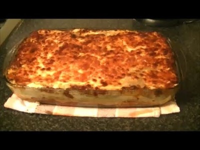LASAGNE RECIPE 1 OF 2 *COOK WITH FAIZA*