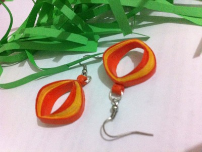 New design quilling earrings