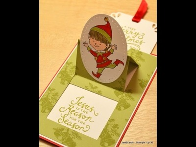 Pop Up Slider Card - JanB UK Stampin' Up! Demonstrator Independent