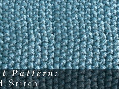 Seed Stitch { Knit }