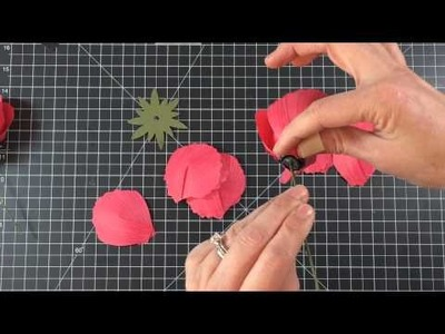 Stampin' Up! Build-a-Bouquet Poppy Tutorial