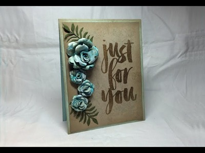 Stampin' Up! Flowerworks - Handmade flowers using SU punches