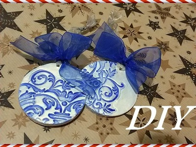 TUTORIAL Decorazione di Natale con il DAS | CHRISTMAS Decoration DIY