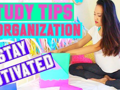 Back To School: Study Tips & Organization 2015!!
