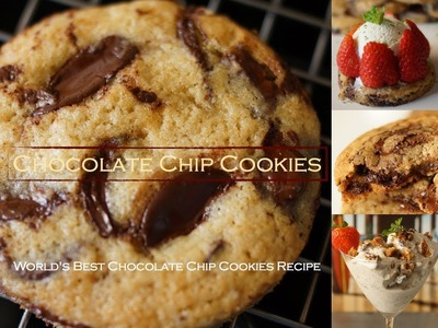 Chocolate Chip Cookies - No Mixer - Bruno Albouze - THE REAL DEAL