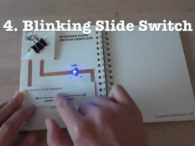 Circuit Stickers Tutorial 4: Blinking Slide Switch