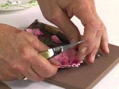 Designing in Susan's Garden with Sizzix Thinlits Carnation Flower Set
