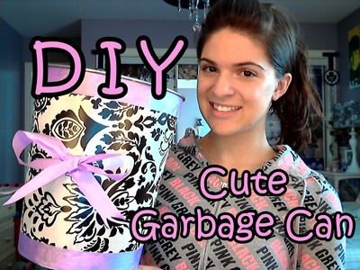 DIY Garbage Can Makeover! ♥