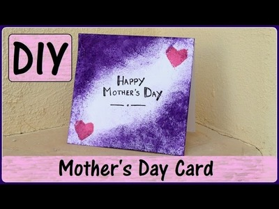 DIY Mother's Day Card | using DIY Sponge Stipplers