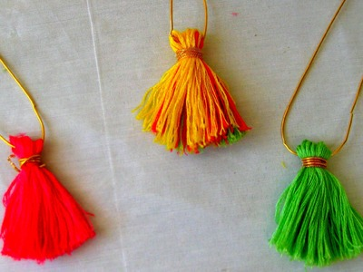 Fashionable Tassel pendent for your stunning beautiful look in less than 5 mins