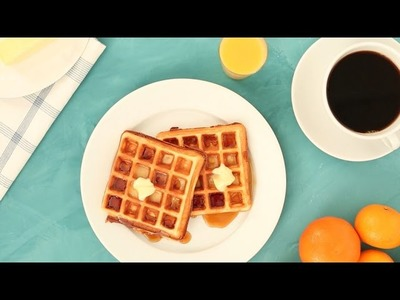 Fluffy and Delicious Homemade Waffles