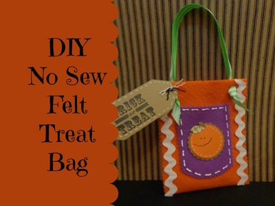 HalloCraft Ep 3 Trick or Treat Felt Bag No Sew