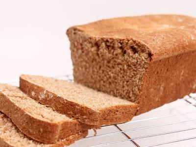 Homemade Whole Wheat Sandwich Bread Recipe - Laura Vitale - Laura in the Kitchen Episode 672