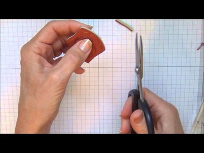 How to Closely Trim Rubber Stamps