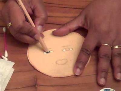 How to Draw a Cute Doll Face- Doll Making Tips from the Doll Loft