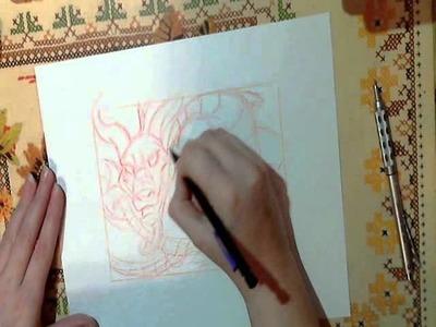 How to Draw an Oriental Dragon