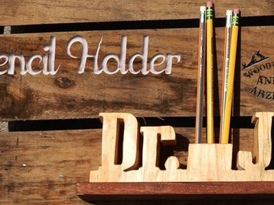 How to make a Pencil Holder - Ep 009