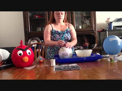 How to Make Angry Birds Pinatas!