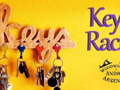 How to make - Cool Key Rack - Ep 012
