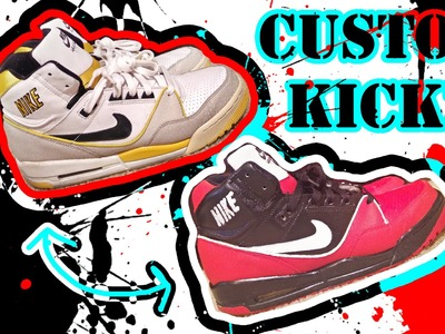 How To Make Old Shoes Look New | Custom Paint Job
