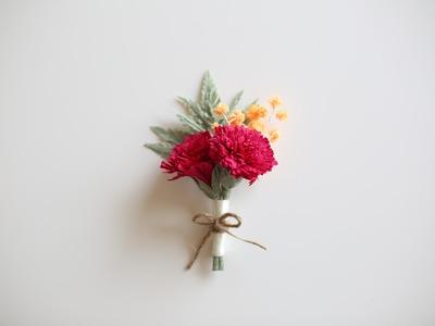 How to make paperflowers : Rumohra! EASY & SIMPLE