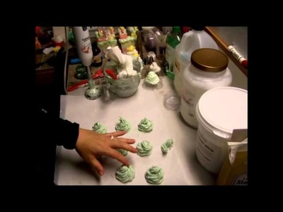 Melt and Pour Soap frosting Part 3 of 3